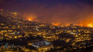 Incêndio na Ilha da Madeira é controlado
